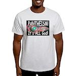 Pantheist Ash Grey T-Shirt