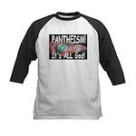 Pantheist Kids Baseball Jersey