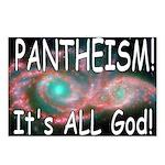Pantheist Postcards (Package of 8)