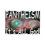 Pantheist Rectangle Magnet