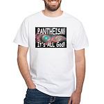 Pantheist White T-Shirt