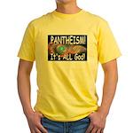 Pantheist Yellow T-Shirt