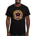 Veteran Proud to Serve Men's Fitted T-Shirt (dark)