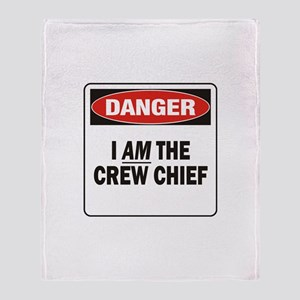 Crew Chief Throw Blanket