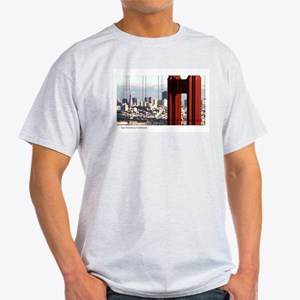 SF Thru Golden Gate  Ash Grey T-Shirt