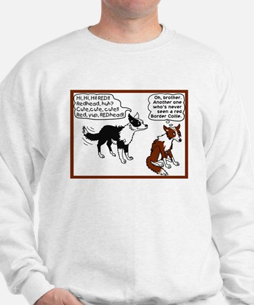 Red Border Collie Sweatshirt