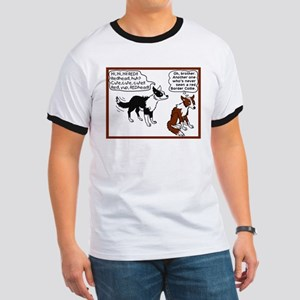 Red Border Collie Ringer T