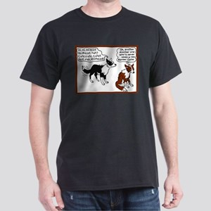 Red Border Collie Dark T-Shirt