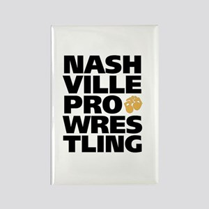 Nashville Pro Wrestling Rectangle Magnet