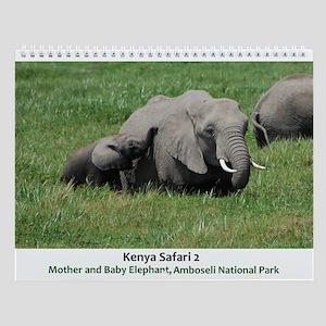 Kenya Safari 2 Wall Calendar