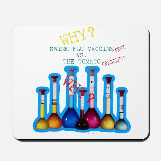 Swind Flu Conspiracy Mousepad