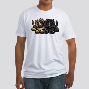 Cairn Terriers Fitted T-Shirt