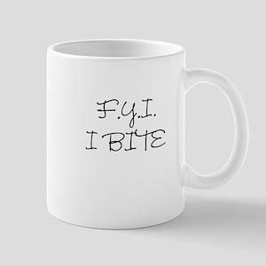 F.Y.I. I Bite Mug