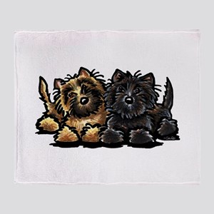 Cairn Terriers Throw Blanket
