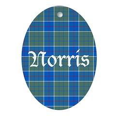 Tartan - Norris Ornament (Oval)