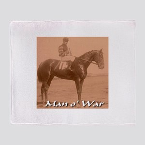 Man o' War Throw Blanket