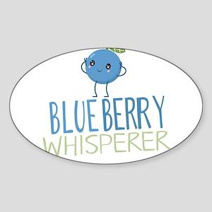 Blueberry Whisperer Sticker