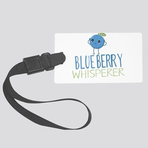 Blueberry Whisperer Luggage Tag
