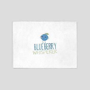 Blueberry Whisperer 5'x7'Area Rug