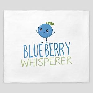 Blueberry Whisperer King Duvet