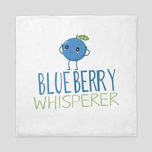 Blueberry Whisperer Queen Duvet