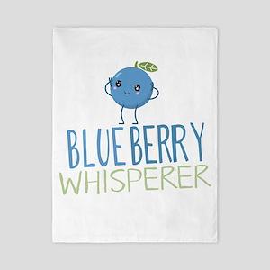 Blueberry Whisperer Twin Duvet Cover