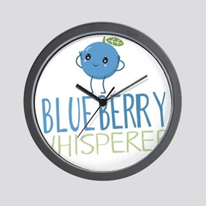 Blueberry Whisperer Wall Clock