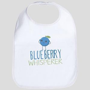 Blueberry Whisperer Baby Bib