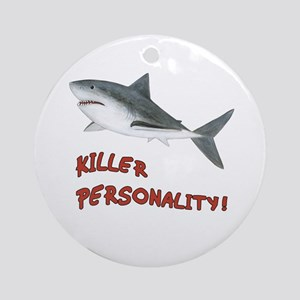 Shark - Personality Ornament (Round)