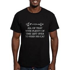 SHIRTSCHRODINGERONBLACK T-Shirt