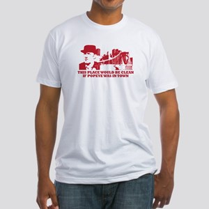 CLEAN TOWN POPEYE DOYLE Fitted T-Shirt