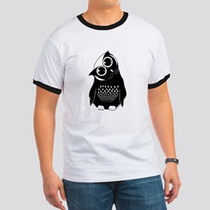Curious Owl Ringer T