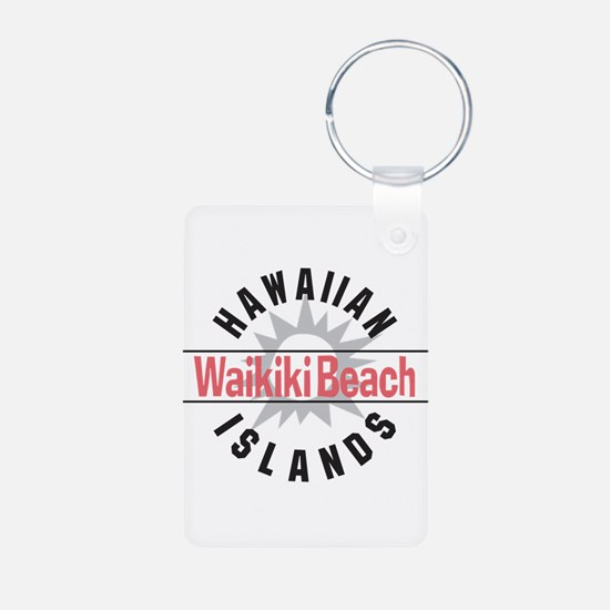 Waikiki Beach Keychains