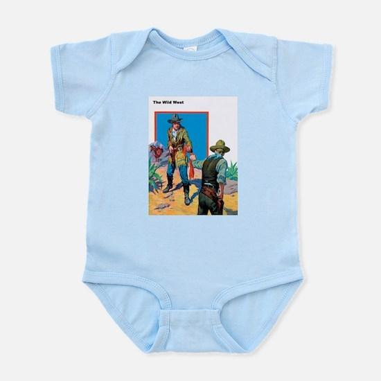 Wild West Face Off Infant Bodysuit
