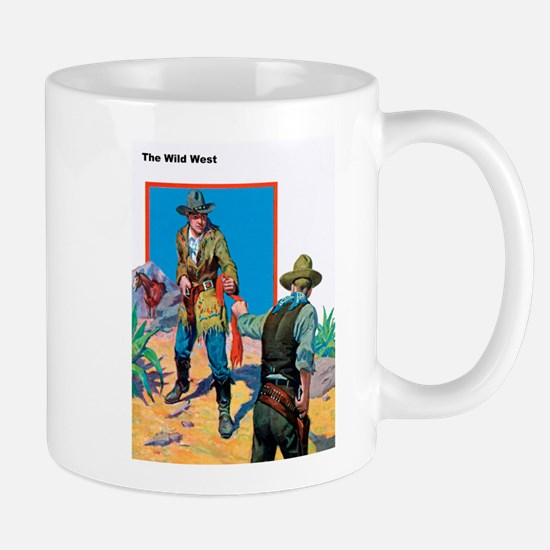 Wild West Face Off Mug