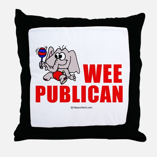Wee publican -  Throw Pillow