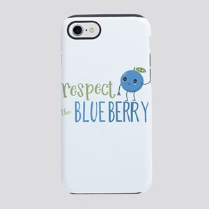 Respect the Blueberry iPhone 7 Tough Case