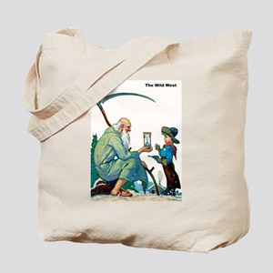 Wild West Passage of Time Tote Bag