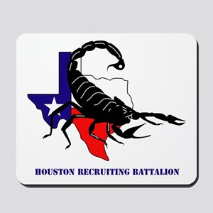 DUI-HOUSTON RECRUITING BN WITH TEXT Mousepad