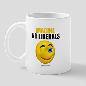 Imagine no liberals -  Mug