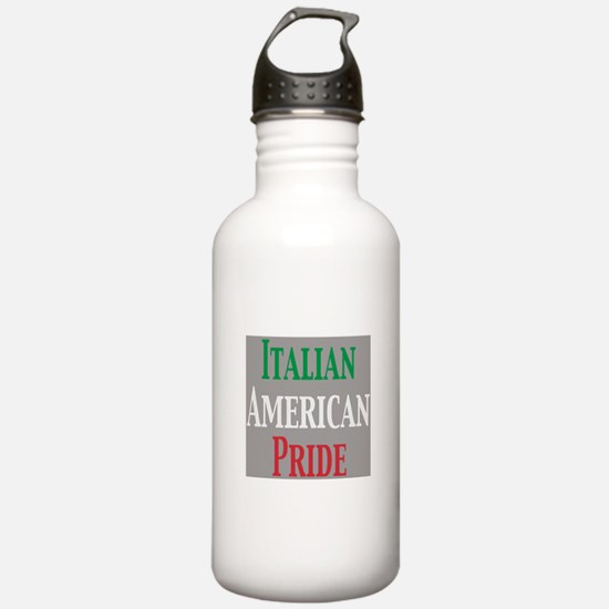 Italian American Pride Water Bottle