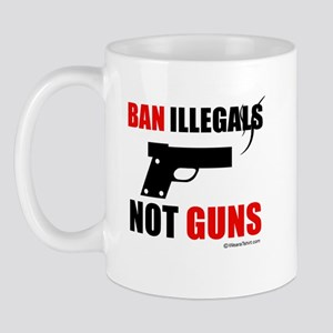 Ban Illegals -  Mug
