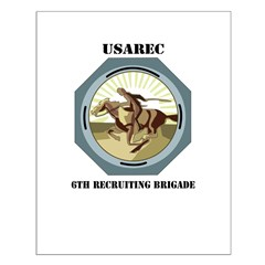 6TH RECRUITING BRIGADE WITH TEXT Posters