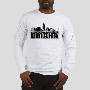 Omaha Skyline Long Sleeve T-Shirt