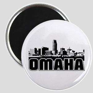 Omaha Skyline Magnet