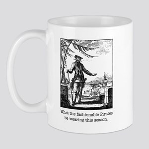 Fashionable Pirate Ceramic Mug