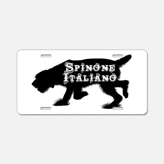 Spinone Aluminum License Plate