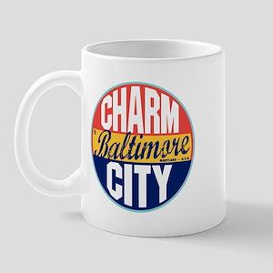 Baltimore Vintage Label Mug
