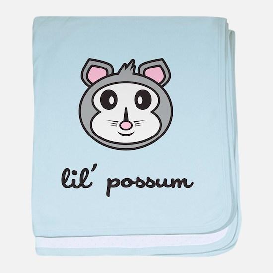 Lil Possum baby blanket