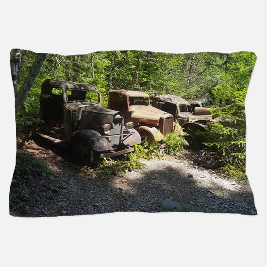 Funny Old truck Pillow Case